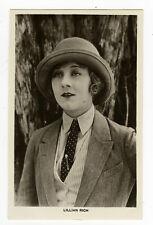 1920's Vintage Movie Star LILLIAN RICH antique photo postcard