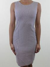 H&M Wiggle, Pencil Striped Sleeveless Dresses for Women