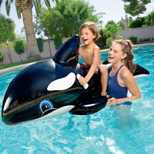 18CM Thickening Inflatable Float Whale Ride On  Swimming Pool Toys Kids