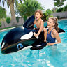 18CM Thickening Inflatable Float Whale Ride On  Swimming Pool Toys Kids DEKO