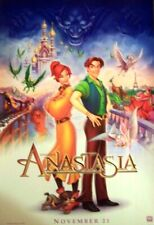 WALT DISNEY ANASTASIA ANIMATED MINI MOVIE PROMO POSTER 13 X 20 - NEW 1997