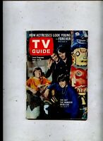 TV GUIDE N.Y. EDITION,  9/23/1967  The Monkees No Label