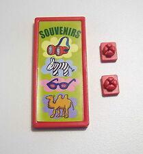 PLAYMOBIL (O2219) ZOO - Pancarte Affiche Souvenirs Parc 3240