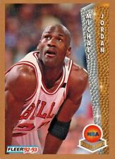 1992 FLEER MICHAEL JORDAN MVP AND FINALS MVP #246 BASKETBALL CARD