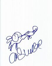 Chris Wedge sketch & signed Scrat of Ice Age 8x10 Photo - Rare