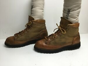 VTG MENS DANNER HIKING BROWN BOOTS SIZE 10.5 B
