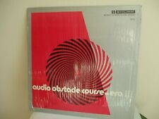 AUDIOPHILE SHURE AUDIO OBSTACLE COURSE - ERA III TEST LP FOR YOUR SYSTEM; M-