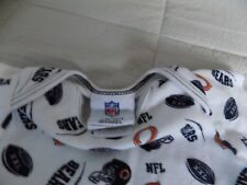 Nfl Chicago Bears Infant Boy/girl Football One piece-0/3 Mo-100% Cotton