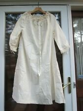 REENACTOR REV WAR 18TH C LADIES CHEMISE IVORY COTTON LACE MEDIUM DELUXE GOWN NEW
