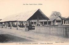 CPA COTE D'IVOIRE DABOU PLACE DU MARCHE