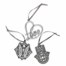Set of 3 A17Ornsetrs Alex And Ani Holiday Ornament