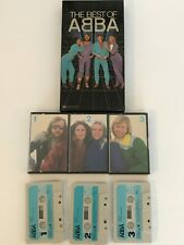 Abba - The Best Of, Reader's Digest Boxset Cassette tapes x 3 (1972 -1981)