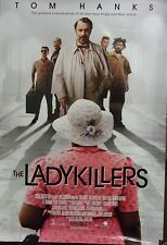 Ladykillers Original Double Sided Movie Poster Tom Hanks JK Simmons Ryan Hurst