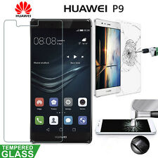 Huawei P9 Real Tempered Glass Film Ultra Clear Lcd Scren Protector Foil Guard