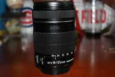 Canon EFS 18-135 Image Stabilizer Zoom Lens Macro 0.45m/1.5 ft