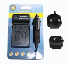 MaximalPower Chargeur Pour NIKON ENEL 3, FUJI NP150, Olympus BLM1/BLM5, Pentax D-LI50