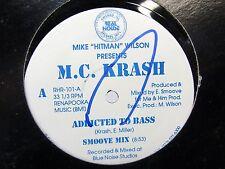 LP 12 Single  MC KRASH Addicted to Bass / KREAM LIKE THIS hip hip & 808 Mix