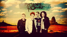 """065 My Chemical Romance - American Rock Band Music Star 25""""x14"""" Poster"""