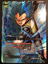 Carte Dragon Ball Super Card Game VEGETA SUPER SAIYAN BLEU BT1-028 R DBZ FR NEUF