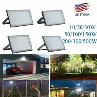 10-500W LED Floodlight Commercial Industrial Outdoor Lighting Security Spot Lamp