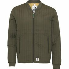 Fat Moose Nordic Premium Lumber Thermo Light Quilted Jacket Coat Army Green XS