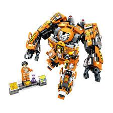 Super Heroes Iron Man MK36 Builiding Blocks Brick Figures Model Toys No Box