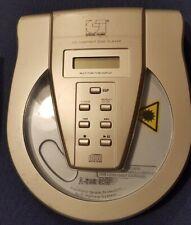 Discman tragbarer CD-Player von General Technic, silber