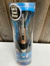 More details for official merch 11th dictor who matt smith sonic screwdriver new other.