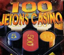 100Pcs Plastic Poker Chips game score keeping set Fun Toy Gift #5 10 50 100 1000