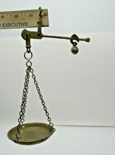 Hanging Brass Balance Scale Vintage