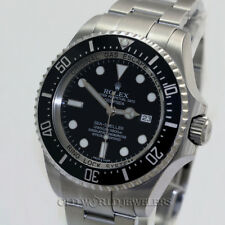 Rolex Deepsea Sea Dweller 116660 Ceramic Bezel Stainless Steel Box Warranty Card