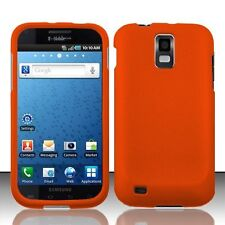Hard Rubberized Case for Samsung Galaxy S2 T989 (T-Mobile) - Orange