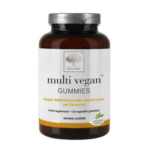 New Nordic Multi Vegan Gummies 120 Gummies - Reduced Exp.09/2021