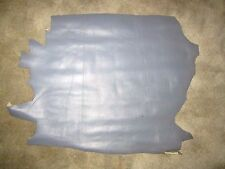 """Steel Gray Calf Genuine Leather for Bookbinding or Other Crafts 32"""" x 25""""+ New"""