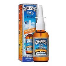 Sovereign Silver BioActive Hydrosol Immune Support. 10ppm, 2oz . 2Pack VertSpray