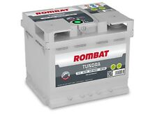 Batterie voiture Rombat Tundra EB150 12v 50ah 500A 207x175x175 idem B18 C6 VARTA