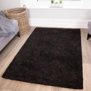 Cosy Bedside Bedroom Floor Shaggy Shag Rugs Fluffy Thick Warm Deep Area Rug