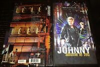 JOHNNY HALLYDAY ALLUME LE FEU COFFRET 3 CD PROMO RESERVE PERSONNEL DE LOUVIERS