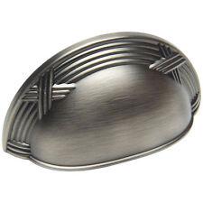 Cosmas Cabinet Hardware Antique Silver Cup Handles Pulls #9461AS