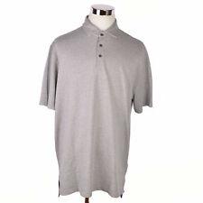 NEW Polo Golf Ralph Lauren Mens XL Grey Brown Herringbone Cotton Peru