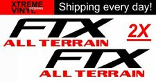 Set of 2 Ford F-150 FTX ALL TERRAIN Bed Side Decals Stickers