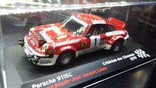 MODELLINO PORSCHE 911 SC RALLY 1979-1/43 DA COLLEZIONE TECA RIGIDA
