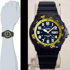 Casio MRW-200HC-2BV Blue Analog Watch 100M WR Glossy Day Date Display New