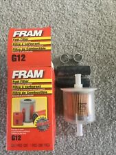 NEW IN BOX FRAM G12 FUEL FILTER CAR VEHICLE ENGINE MOTOR LAWN MOWER