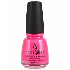 China Glaze Pink Voltage Nail Lacquer 0.5oz