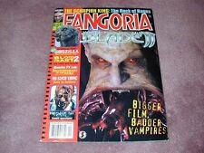 FANGORIA # 211, Blade II, Godzilla, Blood Feast 2 - FREE SHIPPING in USA