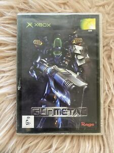 Gun Metal Xbox PAL. Ex Rental.