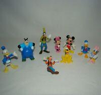 Disney Goofy Pluto Donald Daisy Duck Mickey Minnie Mouse PVC Lot Cake Toppers