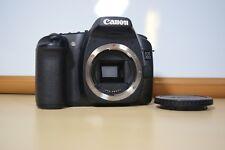 Canon EOS 30D DSLR Camera - charger + lanyard ,(Slight Damage - See Description)