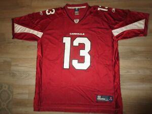Kurt Warner #13 Arizona Cardinals Reebok NFL Jersey 2XL 2X XXL mens